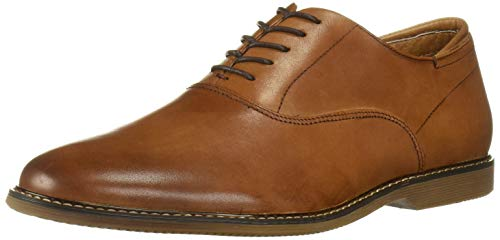 Steve Madden Men's Waldorf Oxford, Tan Leather, 10.5 M US
