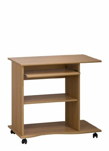 MAJA-Möbel 4024 5531 Computertisch, Buche-Nachbildung, Abmessungen BxHxT: 80 x 75 x 50 cm
