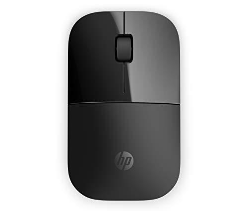HP Z3700 RF - Ratón óptico inalámbrico 1200 DPI, color negro