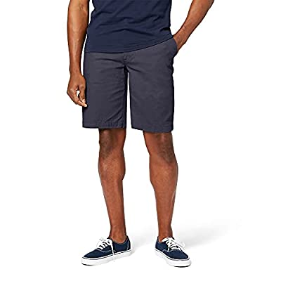 """Sits at waist, roomy fit through seat and thigh Larger smart phone pocket; single welt button through back pockets 10"""" inseam Features twill, stretch for performance Zip fly Note: The Cotton version hits at or below the knee and the stretch (9.5"""" Ins..."""