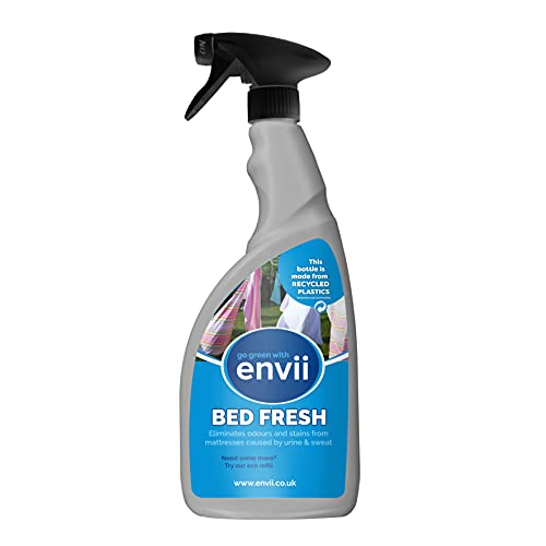 Envii Bed Fresh Pulisci Materassi, Elimina lOdore e le Macchie di Urina - 750ml