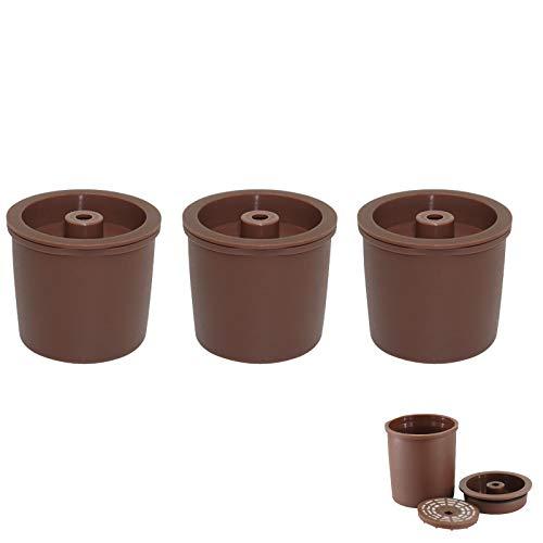 Konesky Cialde per Capsule di Caffè, 3 pezzi Macchina da Caffè Illy Gocciolatore Filtro Caffè Riutilizzabile Senza BPA Compatibile con Illy y3, x8, y5 milk, y1.1, y5, x7.1, x9