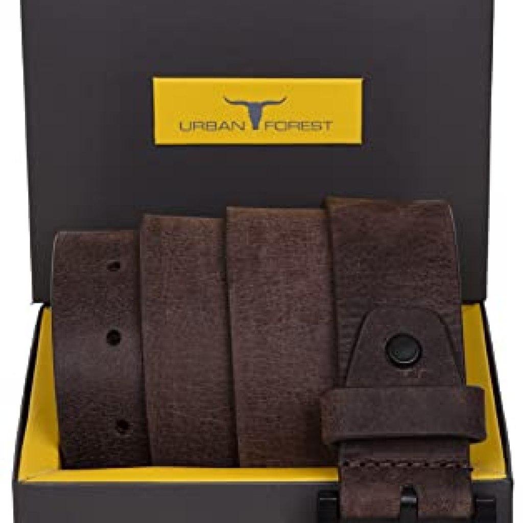 Urban Forest Leather Belt for Men