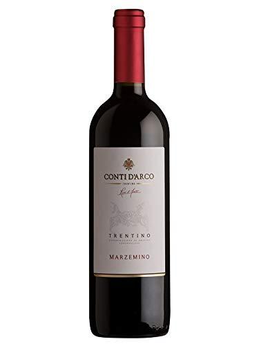 MARZEMINO Trentino DOC - Conti d'Arco - Vino rosso fermo 2019 - Bottiglia 750 ml