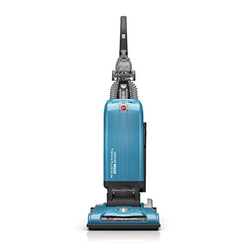 Hoover WindTunnel T-Series Tempo Bagged Upright Vacuum Cleaner with HEPA Media Filter, UH30301, Blue
