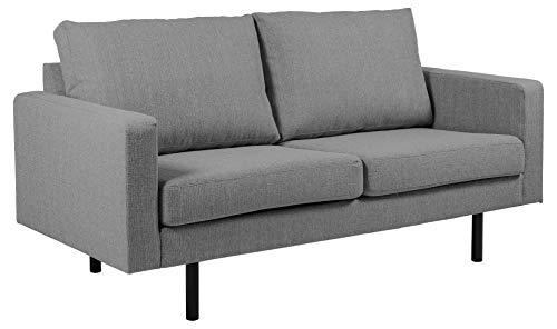Amazon Brand - Movian Ticino - Divano a 2 posti e mezzo, 88 x 173 x 88 cm (Lu x La x A), grigio...
