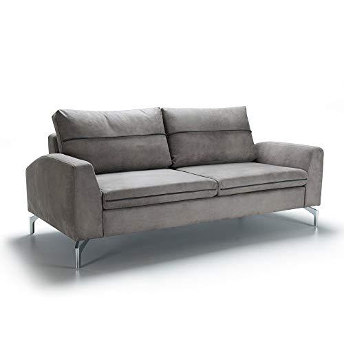 Marchio Amazon -Alkove, divano 2 posti modello Andromeda, colore grigio
