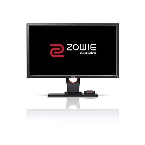 "BenQ ZOWIE XL2430 e-Sports Gaming Monitor con 1 ms, 24"", 144 Hz, Regolabile in Altezza, FHD, DP, S Switch, Nero eQualizer, Dark Grey"