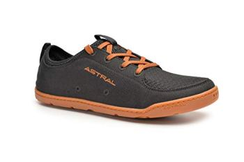 Astral Men's Loyak Barefoot Shoes for Outdoor, Water, Travel and Boat, Black/Brown, 11 M US