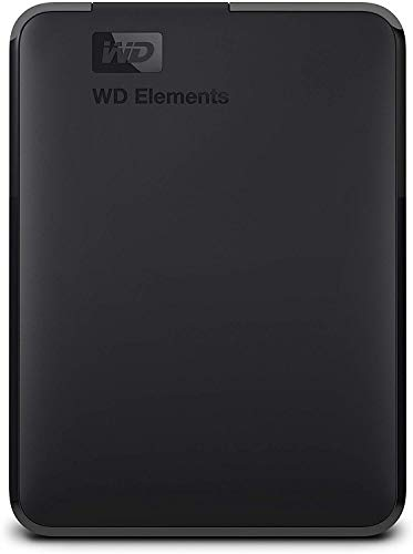 WD 2TB Elements Portable External Hard Drive – USB 3.0