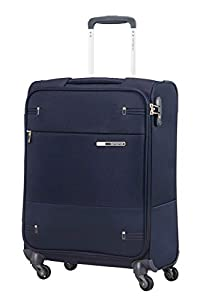 Spinner 55 (hand luggage: Suitable for a two day trip): 40 x 20 x 55 cm - 39 Litre - 2 kg Lightweight: As of 2 kg for cabin sizes TSA Lock on all sizes for secure and stress free travel Eye for detail: Distinctive metal logo, pullers and plead caps o...