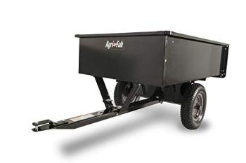 Agri-Fab 45-0101 750-Pound Max Utility Tow Behind Dump Cart, Black