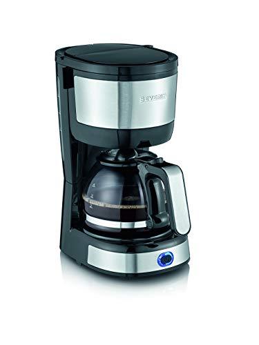 Severin KA 4808 Macchina per il Caffè, Fino a 4 Tazze, Permanente Lavabile, Filtro Oscillante,...