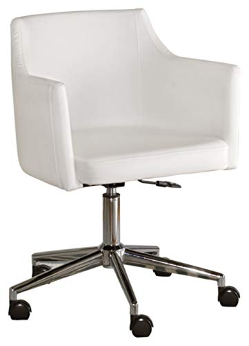 Signature Design by Ashley - Baraga Home Office Swivel Desk Chair - White
