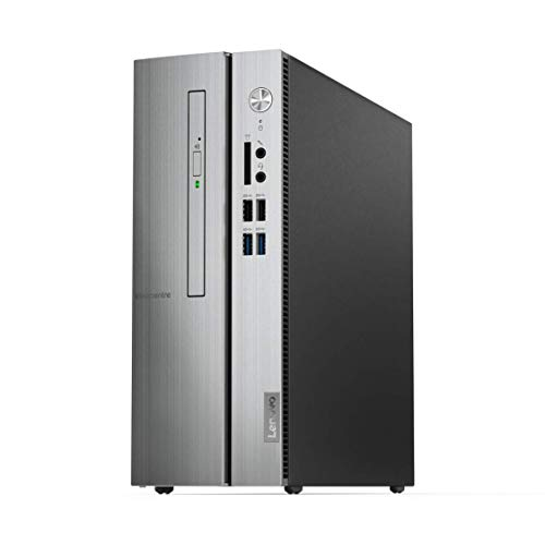 Lenovo Ideacentre 510S Intel Core i3 9th Gen Tower Desktop (4GB RAM/1TB HDD/with Keyboard and Mouse/Windows 10/Silver), 90K800AUIN
