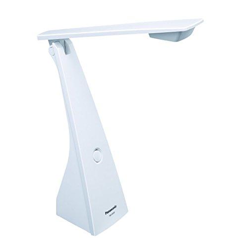 パナソニック LEDデスクライト 置き型 文字くっきり光 昼光色 ホワイト SQ-LD222-W