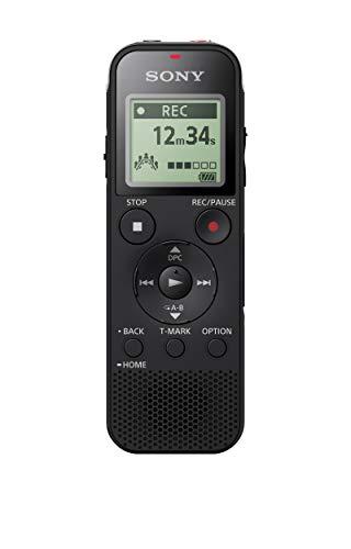 Sony ICD-PX470 4GB Digital Voice Recorder -Black