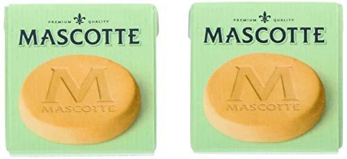 マスコット(Mascotte) 喫煙具 HYDROSTONE 7.5×4.5×1cm ハイドロストーン 手巻きタバコ 加湿用 2個セット 7-...