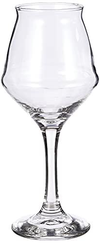 Borgonovo Calici Birra Sommelier, Vetro, 40 cl, Confezione di 6, Trasparente