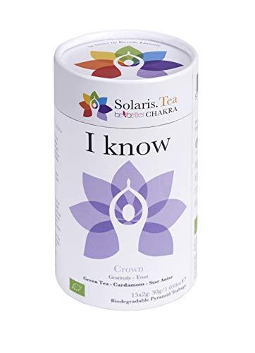 """I know"" BIO Tee - Be Better CHAKRA Yoga by Kerstin Linnartz, 15x biologisch abbaubare Teebeutel, (1 x 30 g)"