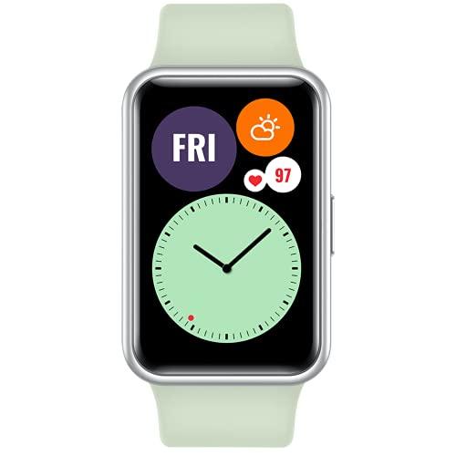 HUAWEI Watch FIT - Smartwatch con Cuerpo de Metal, Pantalla...