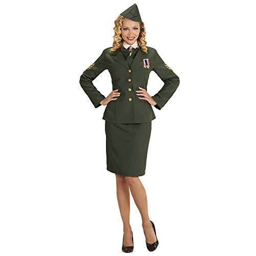 WIDMANN wdm59171?Disfraz oficial del ejército, verde, Small