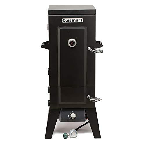 Cuisinart COS-244 Vertical 36' Propane Smoker, Black