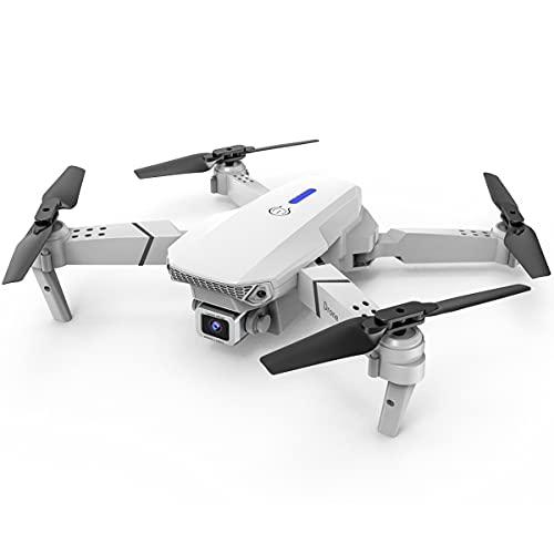 Home Drone RC Quadricottero E525 GPS Drone 4K Doppia Fotocamera Grandangolare Ad Alta Definizione Fotocamera Pieghevole Drone Quadcopter Telecomando