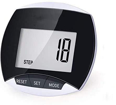 Pedometro pi veloce per camminare, contapassi, distanza di calorie accurata, perfetto per donne e uomini anziani.