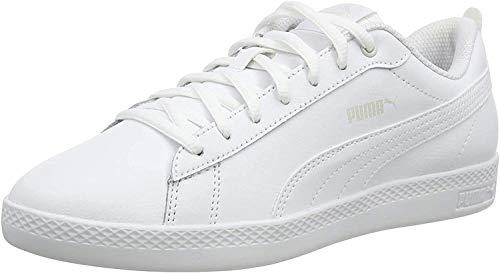 PUMA Smash Wns v2 L, Zapatillas Mujer, White White, 40 EU
