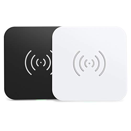 CHOETECH 7.5/10W Wireless Charger 2Pack, Fast Ladestation Induktive für iPhone SE/11/11 Pro/11 Pro Max/Xs MAX/XR/8 Plus/X,Samsung Galaxy Note 10/S20/S10/Note 9/S9/S8,Huawei P30 Pro,Airpods 2/Pro usw