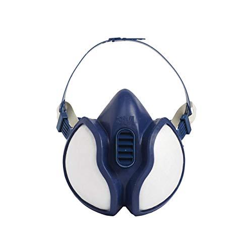 3M FFA1P2 4251C Respiratore per Gas e Vapori a Semimaschera, Bianco