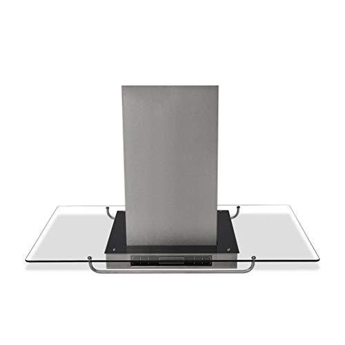 vidaXL 50167 - Cappa da cucina ad isola con display LCD, 750m/h, 180 W