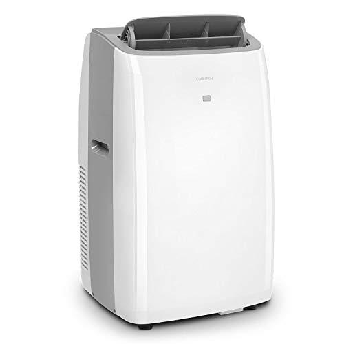 KLARSTEIN Grandbreeze Pro 14K - Climatiseur Mobile, déshumidificateur, Ventilateur, 3 Vitesses, 14000 BTU/1,65 KW, pièces: 42 à 68 m², débit: 460 m³/h, CEE A - Blanc