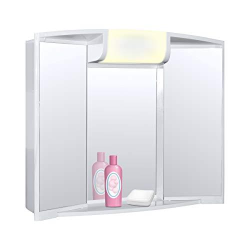 Spiegelschrank Angy mit Voltux Leuchtmittel E14 5W LED Birne Set