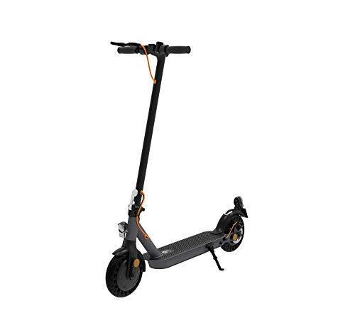 TREKSTOR e.Gear EG3178 E-Scooter mit Straßenzulassung (eKFV), 350 W Motor, 270 Wh Batterie, 25 km Reichweite, 8,5 Zoll Reifen, Stoßgedämpft, Scheibenbremse, nur 14,5kg, 120kg Tragkraft, Klappbar
