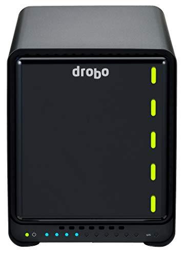 【日本正規代理店品】 Drobo 5N2(Gold Edition) NASケース (5bay/Gigabit Ethernet×2/キャッシュ用SSD128GB...