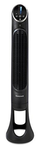 Honeywell HYF290E4 Ventilateur Tour QuietSet Puissant et Ultra Silencieux-avec télécommande-HYF290E, Noir