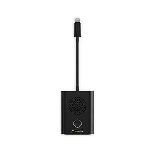 Pioneer XW-LTS5-B Smarter tragbarer Lightning-Konferenzlautsprecher im Taschenformat mit einfachem Plug and Play schwarz