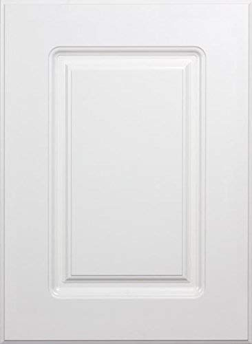 Cabinet Doors 'N' More 16' W X 28' H x 3/4' Replacement White RTF Raised Square Cabinet Door for 18' and 36' Wide...