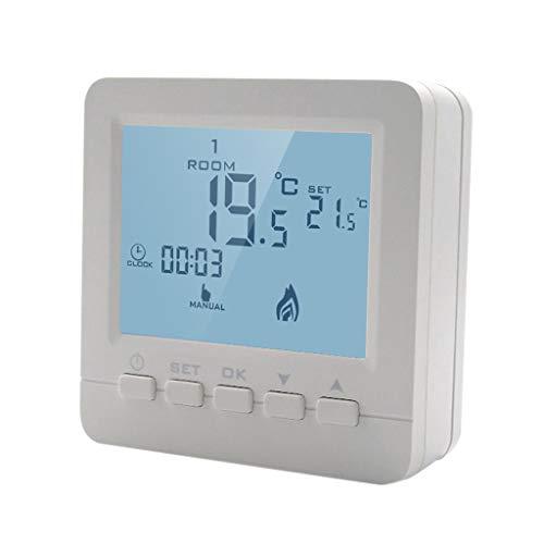 haia7k4k Thermostat programmable pour chaudière à gaz avec contrôle de température
