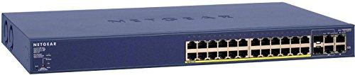 Netgear FS728TP Switch PoE Fast Managed Pro...