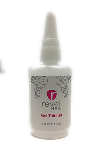 Revel Nail Gel Thinner for Dipping Liquid 2 oz