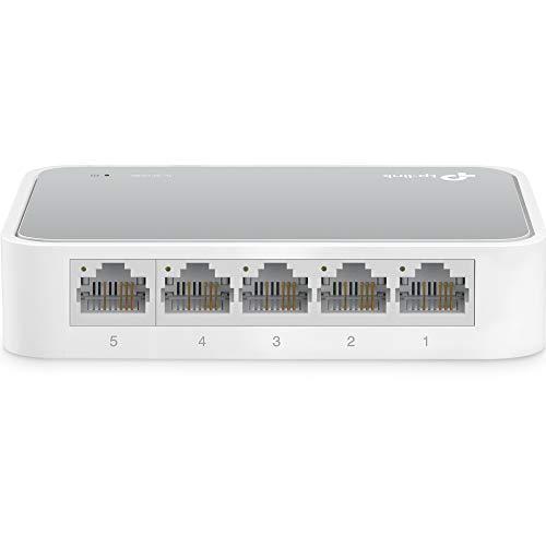 TP-Link TL-SF1005D Switch Desktop, 5 Porte RJ45...