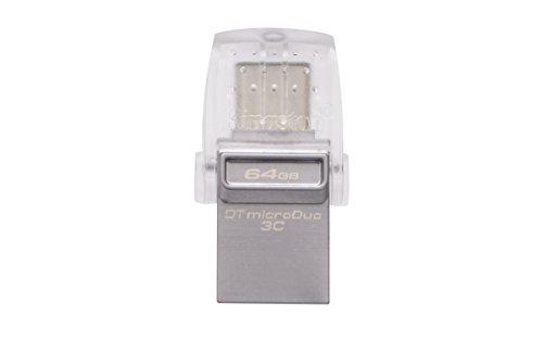 Kingston DataTraveler microDuo 3C DTDUO3C/64GB USB...