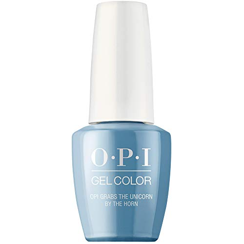 OPI Gel Nail Polish, Scotland Gel Color Collection, OPI grabs the Unicorn by the Horn 0.5 oz