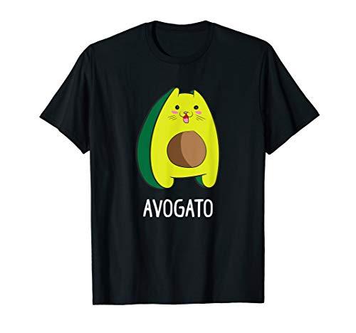 Avagato Cat Design Avogato Avocado Gift T-Shirt