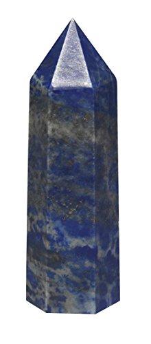 Luckeeper Lapis Lazuli Healing Crystal Wands Obelisk Tower
