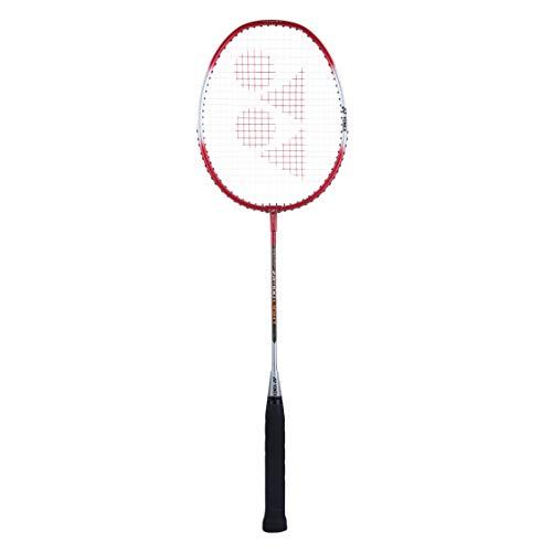 Yonex ZR 100L Aluminium Strung Badminton Racquet with Full Cover (Red)
