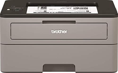 Brother HLL2350DW Stampante Laser Bianco e Nero, Velocit di Stampa 30 ppm, Stampa Fronte/Retro Automatica, Wi-Fi (no rete cablata), Display LCD 1 Riga